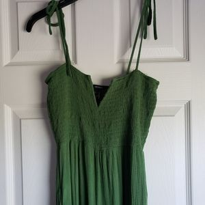Forever21 Green Jumpsuit